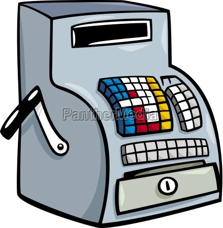 cassa registratore di cassa riscuotere negozio