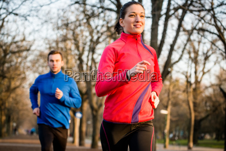 paio di jogging insieme