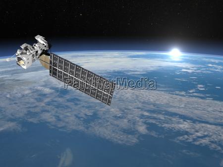 blu spazio cosmo grafico scienza comunicazione