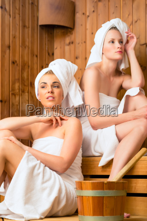 girlfriends at the wellness spa with