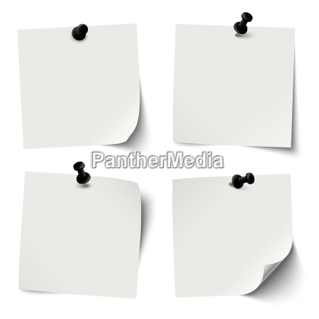 accumulazione delle carte appiccicose colorate con