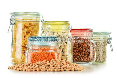 cibo grano dieta vegetariano equilibrato organico