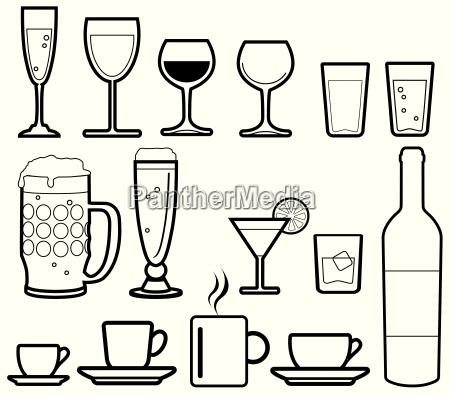 icone bevande