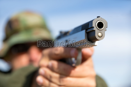 mano mani crimine pistola arma killer