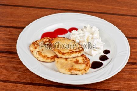 cibo dolce primo piano foglie ristoro
