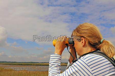 binocolo ornitologia