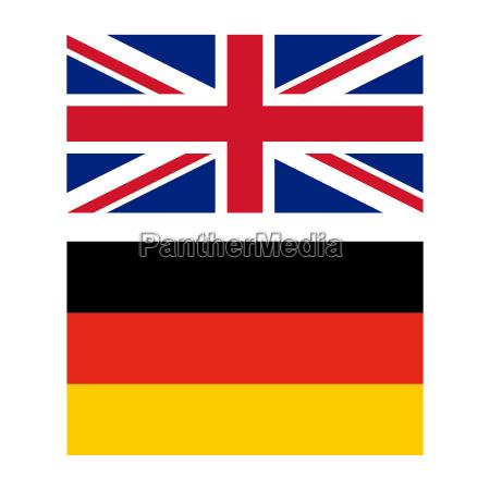 bandiera del regno unito e della