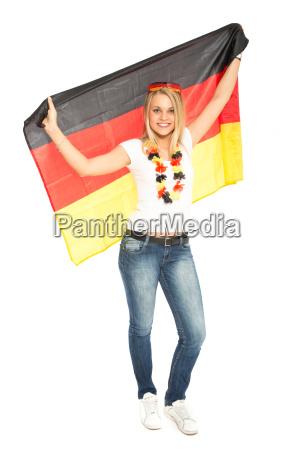 femminile coppa del mondo germania supporter