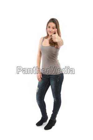 donna dinamico positivo foto giovani bello