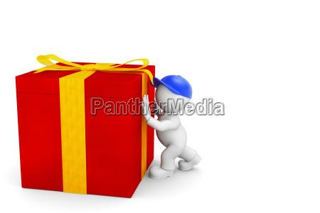 regalo pacco imballaggio pacchetto