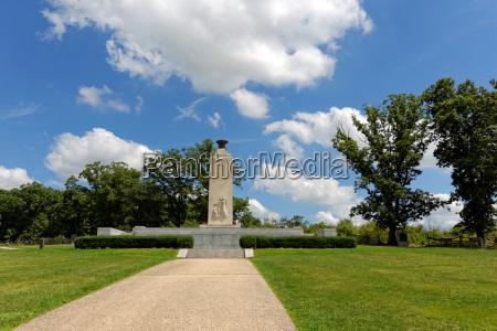 storico storia americano battaglia parco nazionale