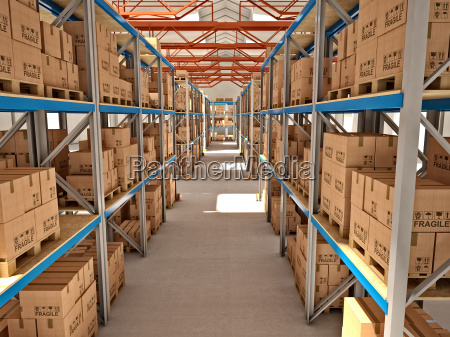 industria industriale deposito pacco magazzino spedizione