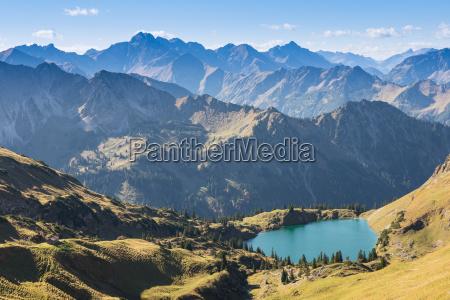 montagne escursione gita lago di montagna