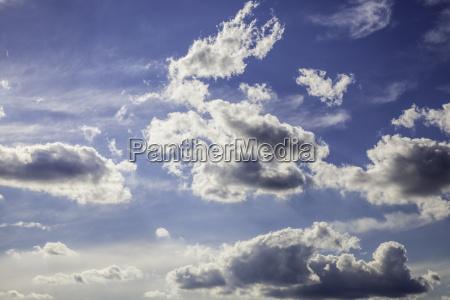 cielo azzurro dinamico