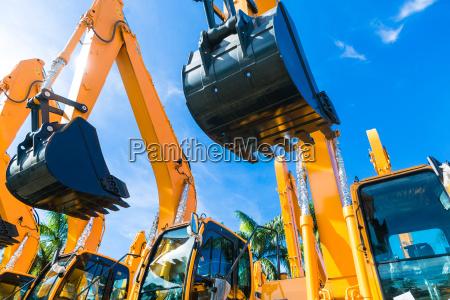 industria industriale macchinario palma veicolo fila