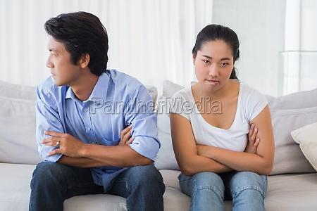 coppia che non parla dopo una