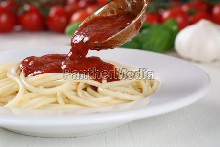 pasta salsa sugo pomodori spaghetti salsa