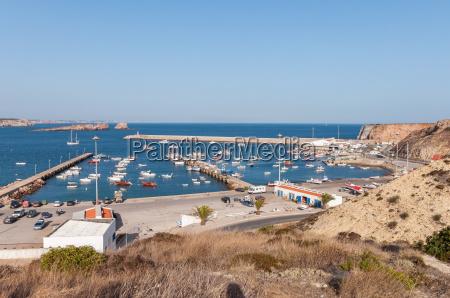 porto portogallo sguardo vista barca nave