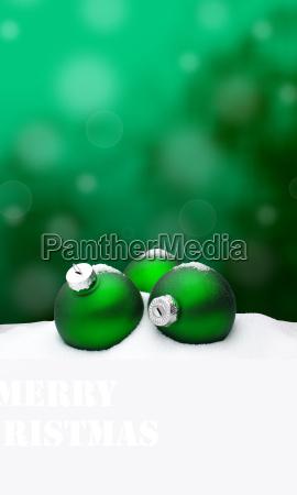 christmas background christmas ornament green
