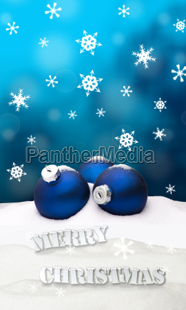 christmas background christmas ornament blue