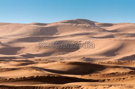 deserto africa allaperto duna marocco sabbie
