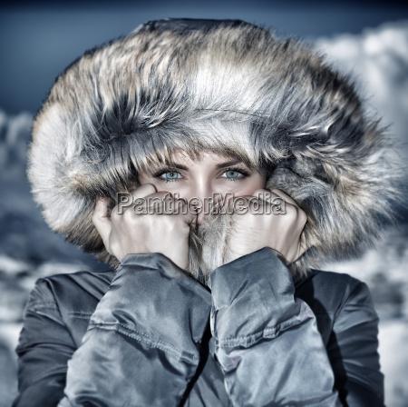 sguardo di tempo di inverno di