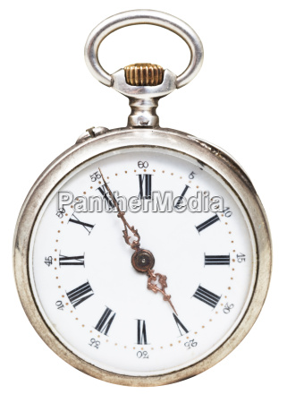 five minutes to five oclock on