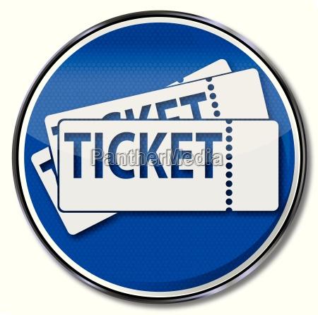 firmare con i biglietti