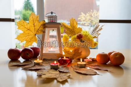 decoration in autumn