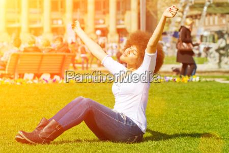 godersi il sole