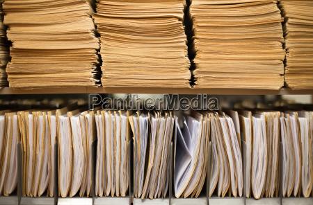 ufficio archiviare amministrazione archivio file autorita