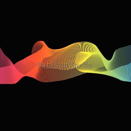 blu movimento in movimento colore progettazione