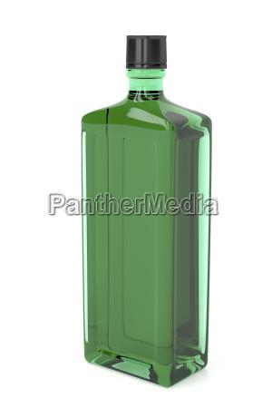 bicchiere bere rilasciato alcool appartato bottiglia