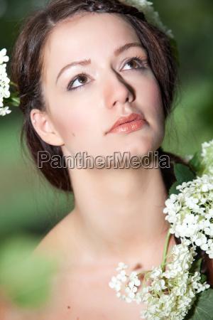 salute marrone faccia ritratto pelle fiore