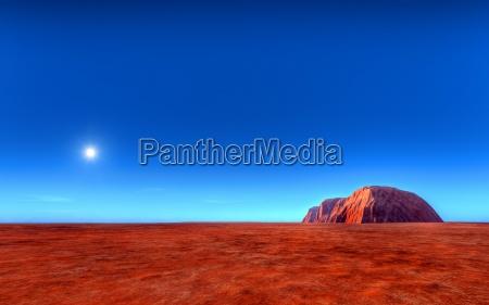 uluru ayers roch in australia