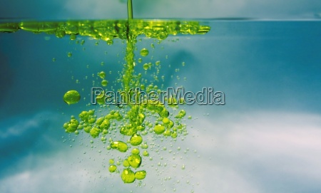 olio in acqua
