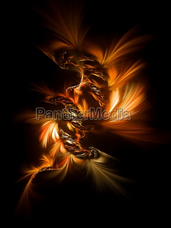luce arte dinamica dinamismo onda fuoco