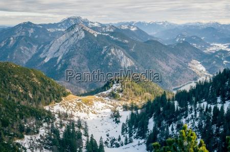 montagne alpi escursione gita baviera sguardo