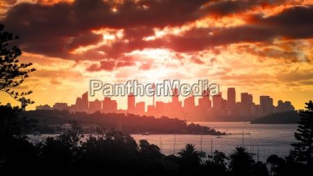 tramonto su sydney