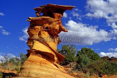 blu monumento pietra sasso deserto parco