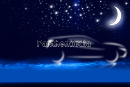blu alba profondo astratto scuro buio