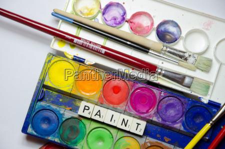 dipingere tingere acquerello batik colori