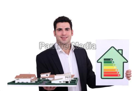 uomo daffari businessman stile di costruzione