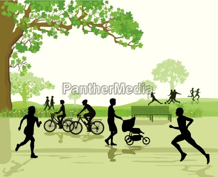 svago e sport nel parco
