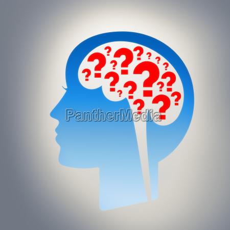 molti domanda nella vostra mente
