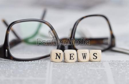giornale tageblatt media lettere notizie stampa