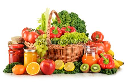composizione con la varieta verdura e