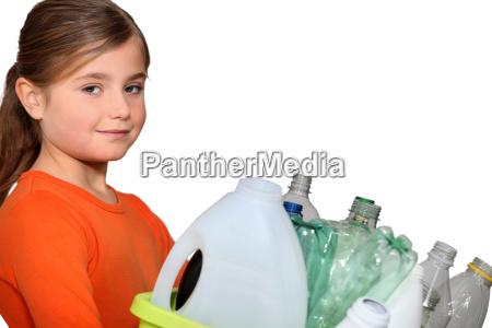 sporcizia attenzione contenitore bottiglie pulito container