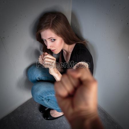 la donna nella paura di domestico