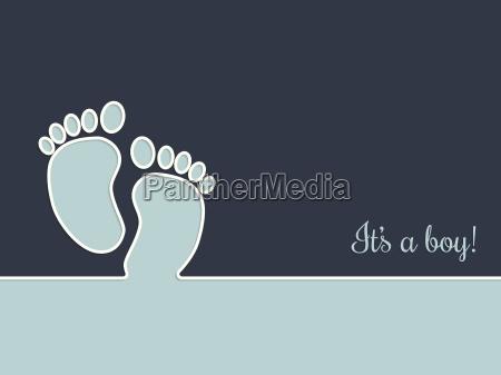 saluti bambino neonato lattante doccia mappa